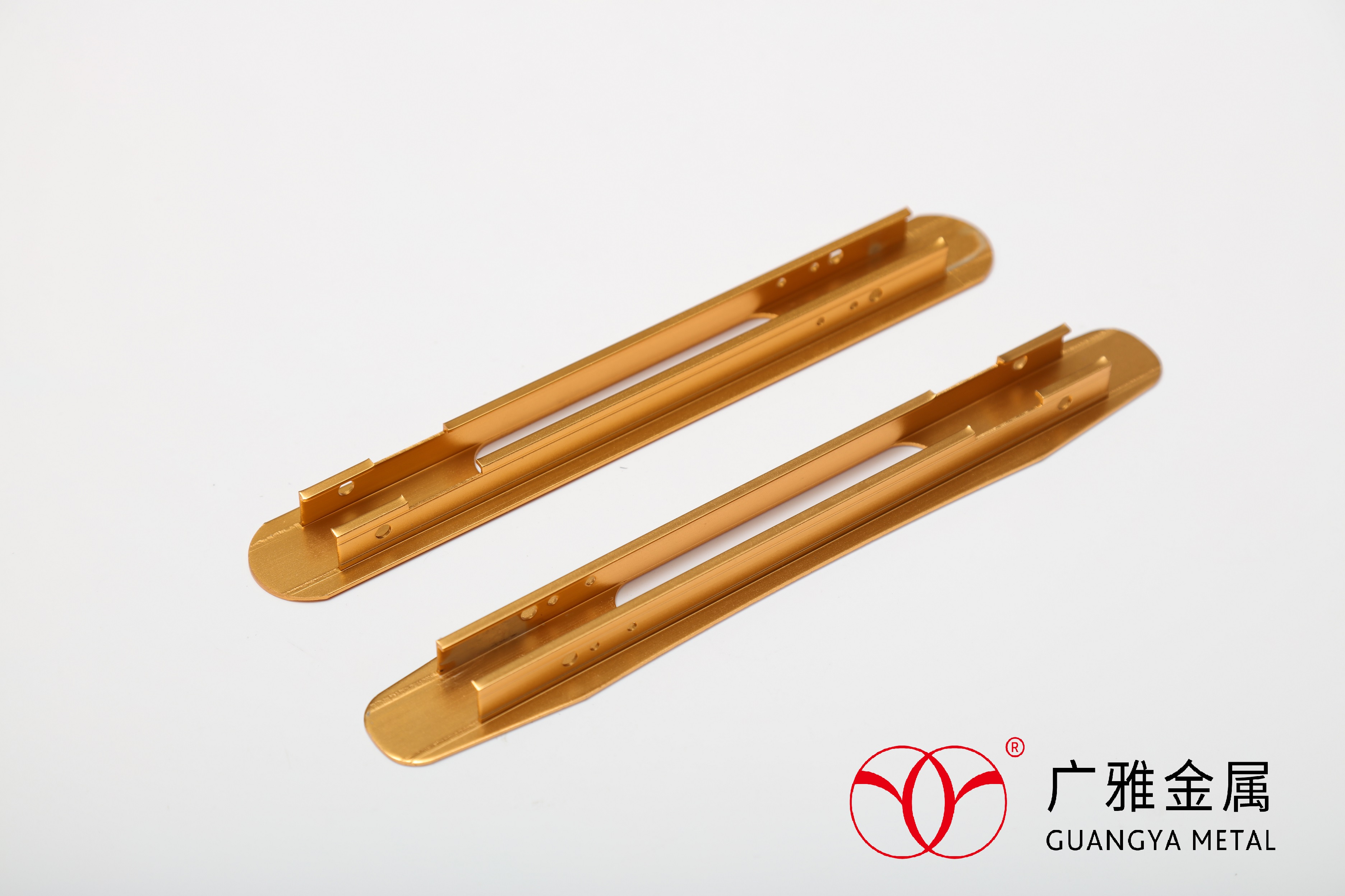 Golden Anodized Parts